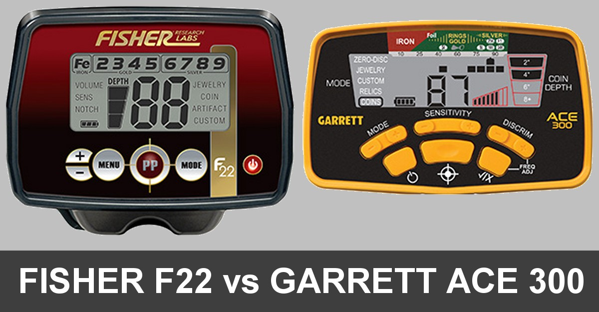 fisher f22 garrett ace 300 compare - Fisher F22 vs Garrett ACE 300 (5 Important Differences)